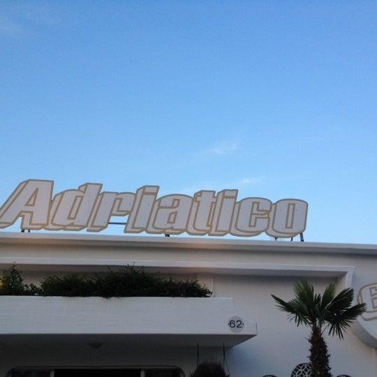 Foto scattata a Bagno Adriatico 62 da Rossana O. il 6/9/2012