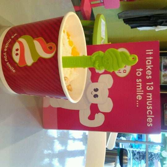 Photo taken at Menchie's Red Bug Village by Natascha F. on 8/21/2012