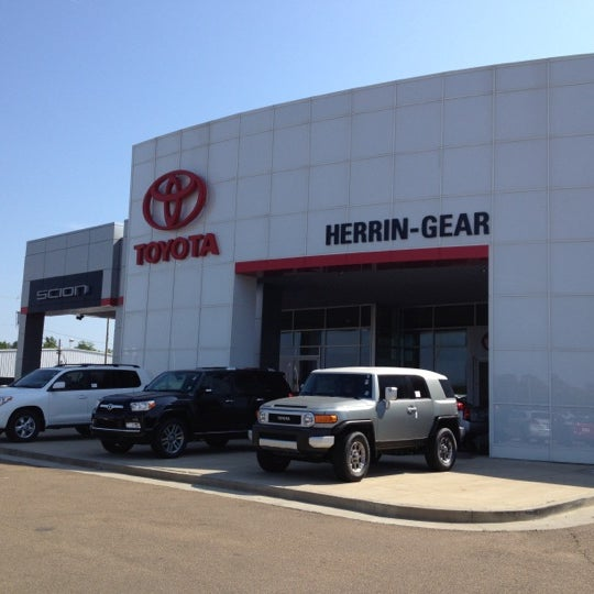 Photo Taken At Herrin Gear Toyota By Ean S. On 4/13/