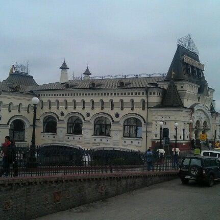 Photo taken at Железнодорожный вокзал Владивостока / Vladivostok Railway Station by Юрий Е. on 8/7/2012
