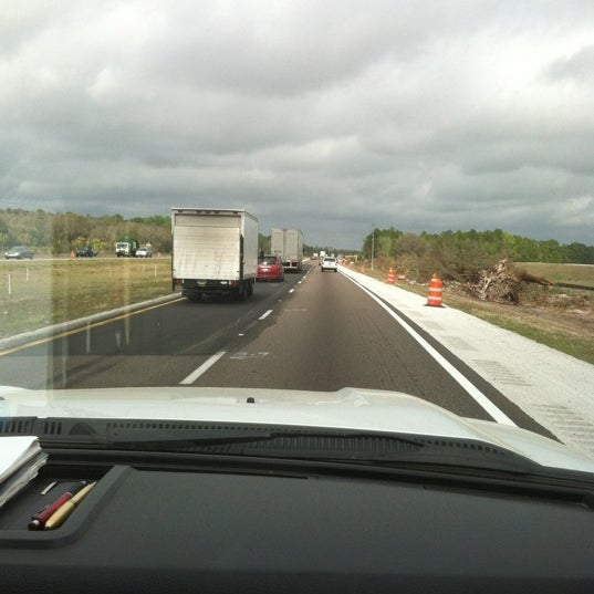 Photo taken at I-75 by Adrian M. on 2/22/2012