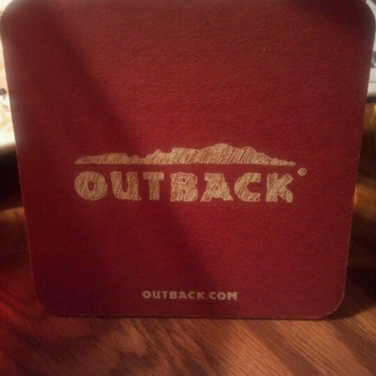 Photo taken at Outback Steakhouse by Kimberly G. on 2/7/2012