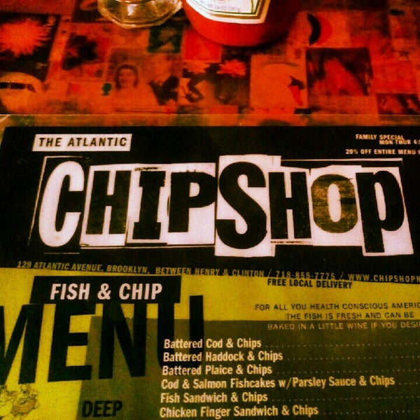 Photo taken at The Atlantic ChipShop by manuel on 7/21/2012