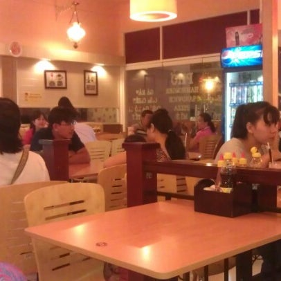 Photo taken at Highland Coffee @ BIG C by Mikhail I. on 9/8/2012