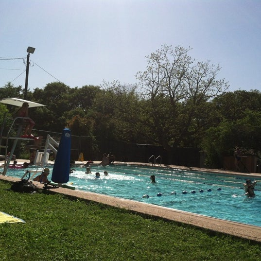Photo taken at Big Stacy Pool by Warren V. on 4/4/2012