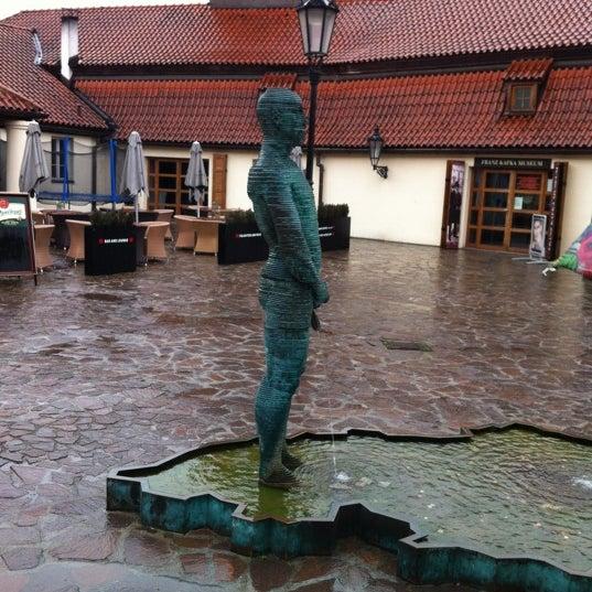 4/20/2012 tarihinde Натальяziyaretçi tarafından Franz Kafka Museum'de çekilen fotoğraf