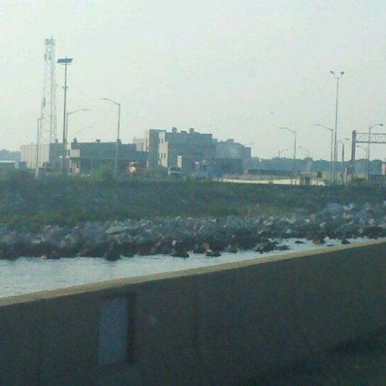 Photo taken at HRBT by Rob M. on 7/16/2012