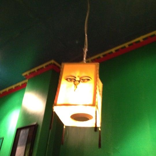 Photo taken at Cafe Tibet by Ezra S. on 4/22/2012