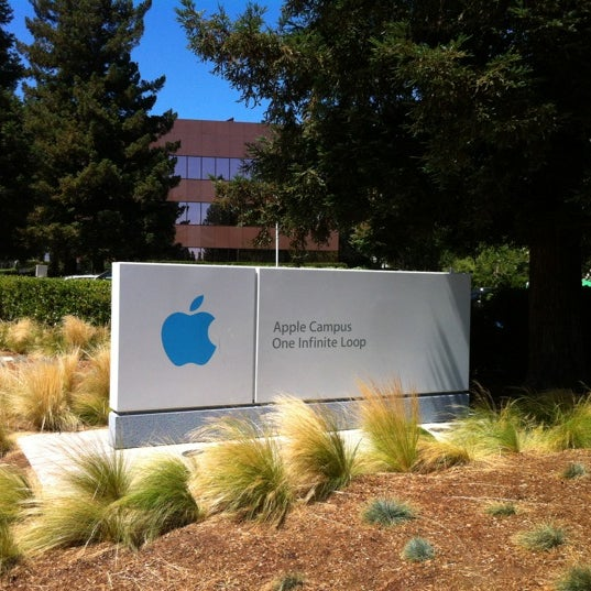 Photo taken at Apple Inc. by Aurélien on 8/7/2012