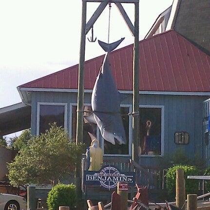 Photo taken at The Original Benjamin's Calabash Seafood by Tiffani K. on 9/7/2012