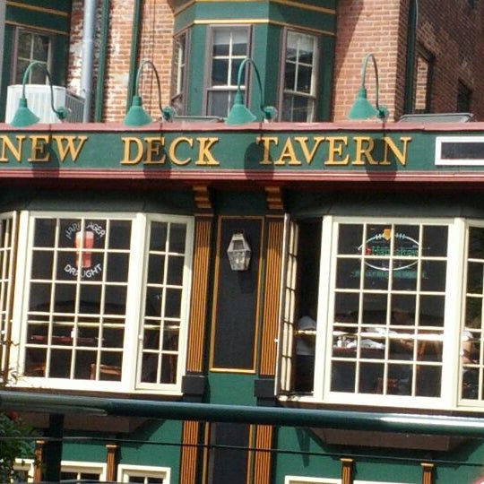 Photo taken at New Deck Tavern by Kyle on 4/4/2012