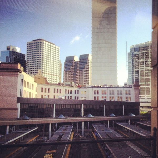 Photo taken at South Station Terminal (MBTA / Amtrak) by Madison G. on 8/6/2012
