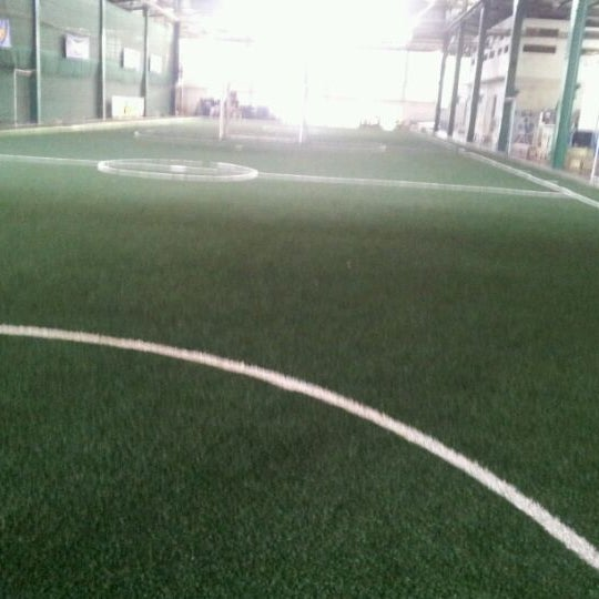 Photo taken at SD Indoor Soccer by Prachya M. on 5/1/2012