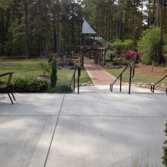 Photo taken at Cape Fear Botanical Garden by Chalky S. on 3/28/2012