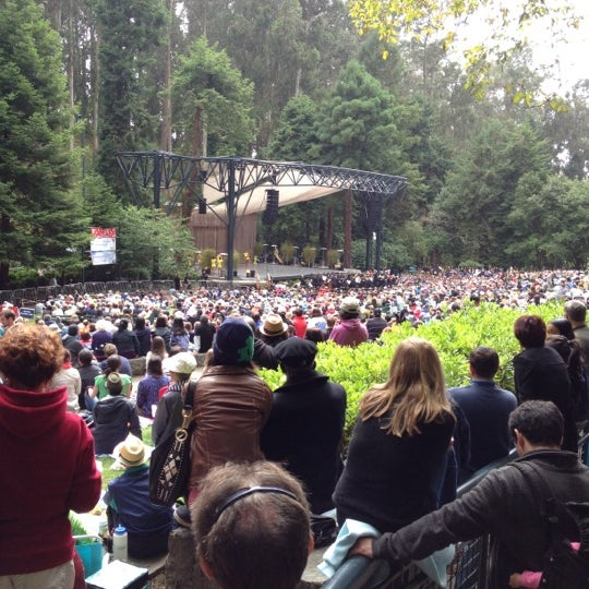 Photo taken at Sigmund Stern Grove by Russell H. on 7/29/2012