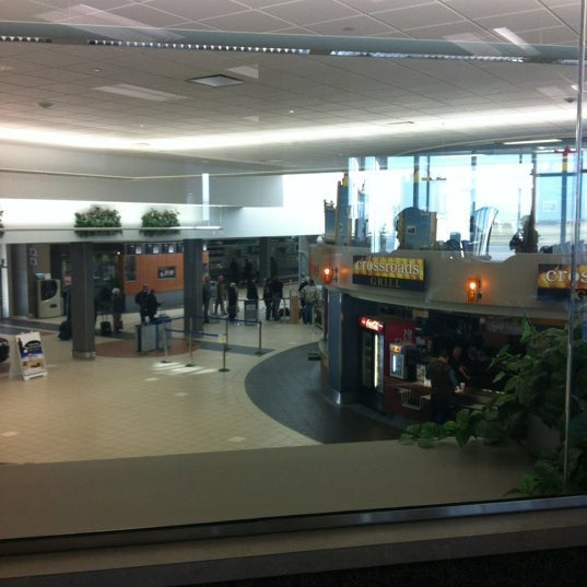 Photo taken at Saskatoon John G. Diefenbaker International Airport (YXE) by Wanda M. on 3/28/2012