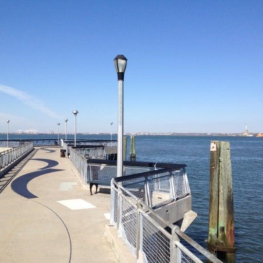 Photo taken at Louis Valentino Jr Park & Pier by Bryan B. on 4/4/2012