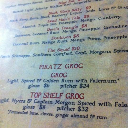 Photo taken at Piratz Tavern by Tim B. on 3/3/2012