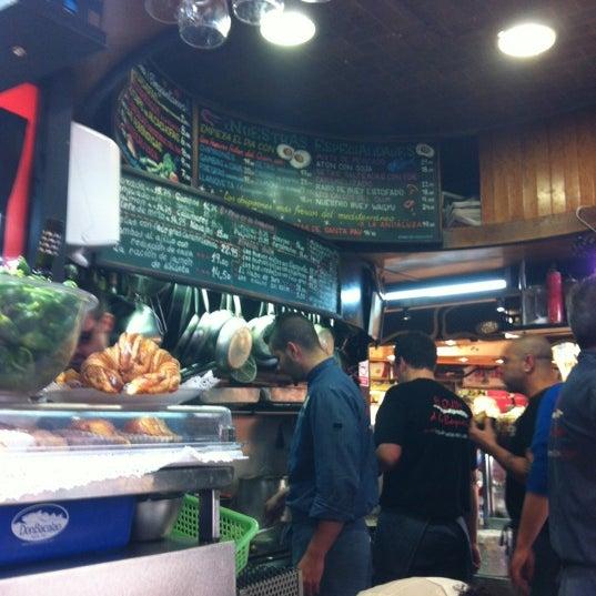 Foto tomada en El Quim de la Boqueria por Petchy S. el 3/22/2012
