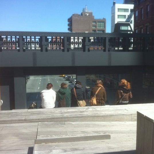 Photo taken at High Line 10th Ave Amphitheatre by .oo. on 3/27/2012