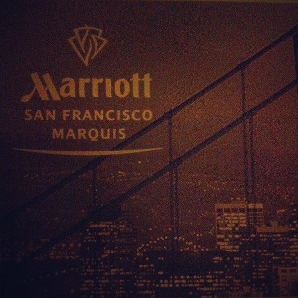 Photo taken at San Francisco Marriott Marquis by Benjamin J. on 7/18/2012