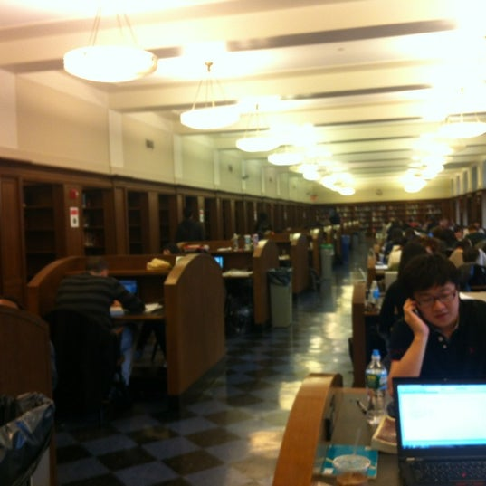 Photo taken at Butler Library by Mason F. on 3/25/2012