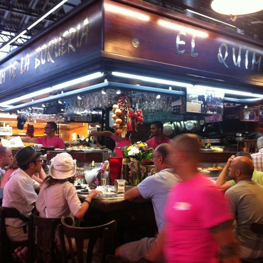 Foto tomada en El Quim de la Boqueria por Manel F. el 7/4/2012