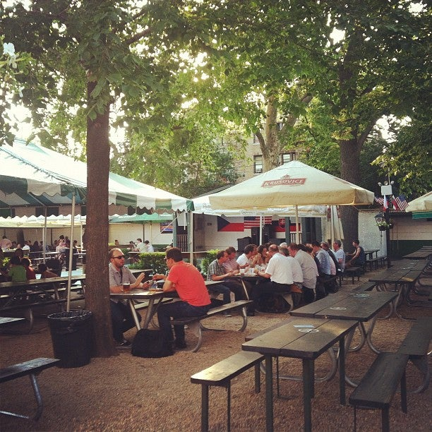 Bohemian Hall Beer Garden At 29 19 24th Ave Btwn 29th 31st St