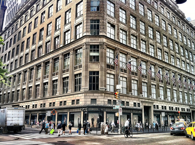 Saks Fifth Avenue's Inception. Saks Fifth Avenue was the brainchild of Horace Saks and Bernard Gimbel, who operated independent retail stores on New York's 34th Street at .