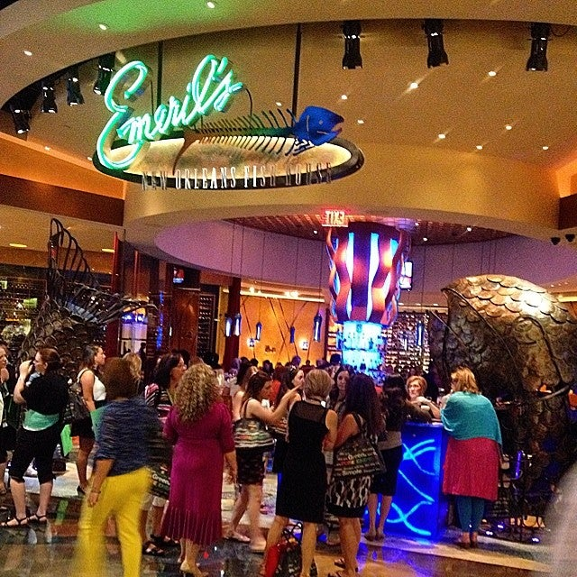 Emeril 39 s new orleans fish house at mgm grand 3799 las for Fish restaurant mgm