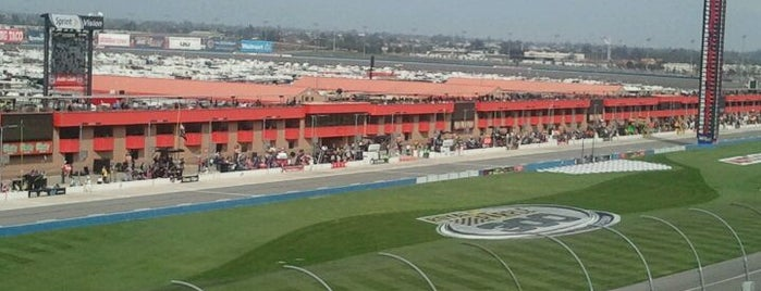 Auto Club Speedway is one of Places to try.