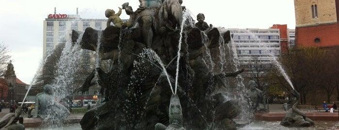 Neptunbrunnen is one of Berlin.