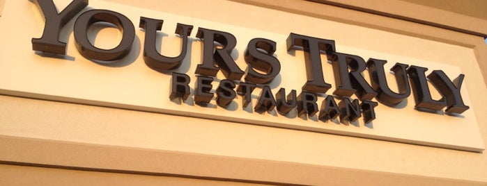 Yours Truly Restaurant is one of Places tried: recommend.