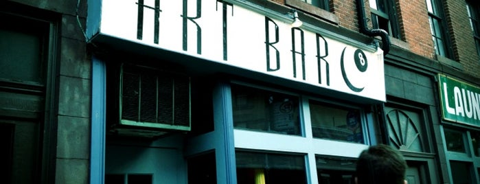 Art Bar is one of Bars to check out.
