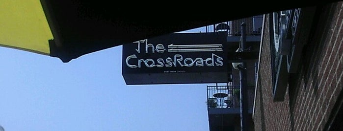 The Crossroads Bar & Grill is one of Official Blackhawks Bars.