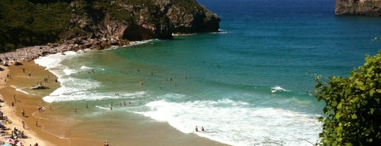 Playa de Andrín is one of Porto-Bilbao.