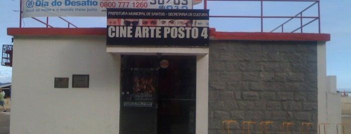 Cine Arte Posto 4 is one of Santos Cultural.