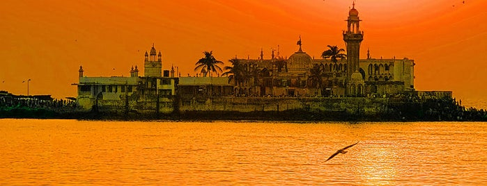 Haji Ali is one of Mumbai Maximum.