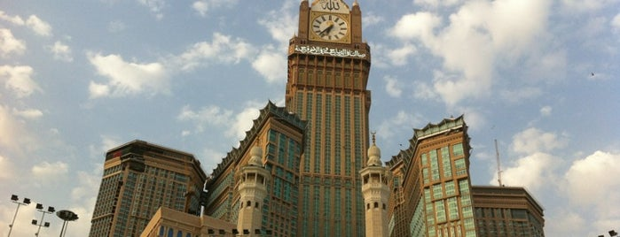 Makkah Clock Royal Tower - A Fairmont Hotel is one of Must visit Place and Food in Saudi Arabia.