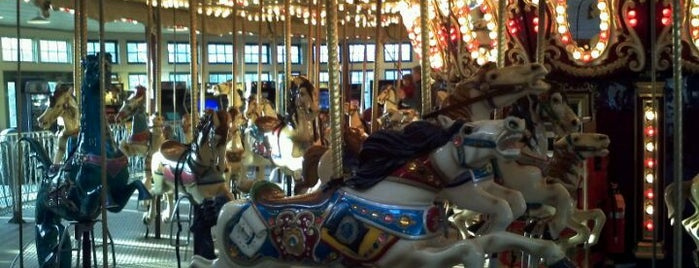 Roger Williams Park - Carousel Village is one of just a list of places.