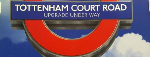 Tottenham Court Road London Underground Station is one of Rail stations.