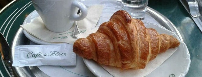 Café de Flore is one of Paris, je mange.