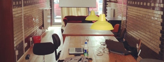 Wostel - Coworking & more is one of Neukölln.