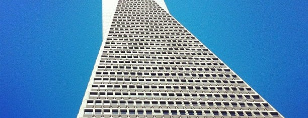 Transamerica Pyramid is one of Architecture Highlights.