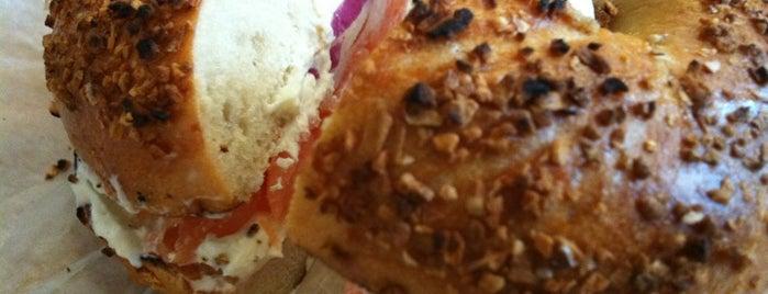 Zucker's Bagels & Smoked Fish is one of Breakfast: PATH to Soho.