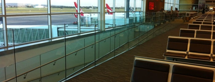 Qantas Domestic Departures is one of Adelaide.