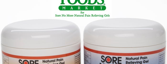 Whole Foods Market is one of Places you can buy SORE NO MORE in ALBUQUERQUE, NM.