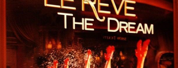 Le Rêve is one of Cirque du Soleil Las Vegas.