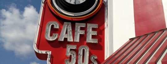 Cafe 50's is one of Date Night!.