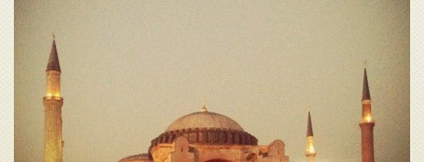 Hagia Sophia is one of Istanbul.